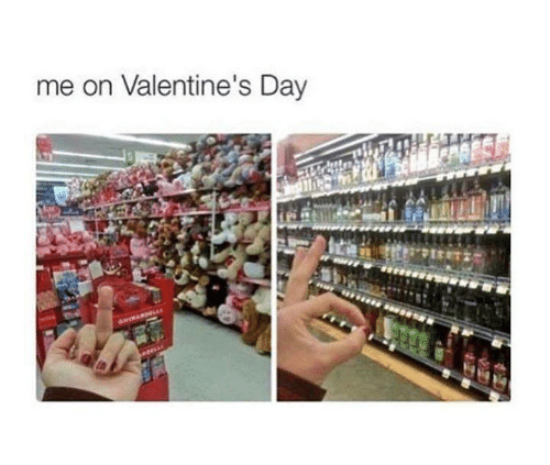 Memes, Valentine's Day, and 🤖: me on Valentine's Day
