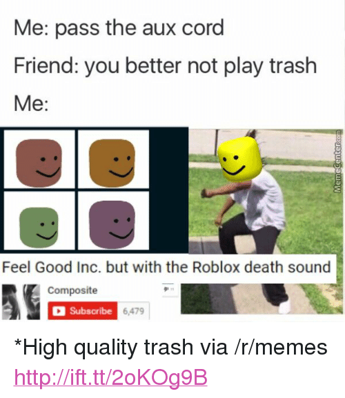 🔥 25+ Best Memes About Roblox Death Sound | Roblox Death