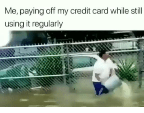 paying off a credit card with a credit card