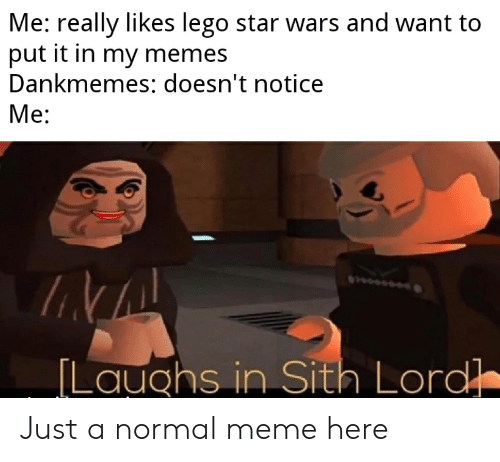 Me Really Likes Lego Star Wars And Want To Put It In My Memes