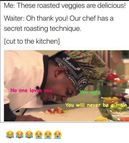 Nailing the delicious waiter