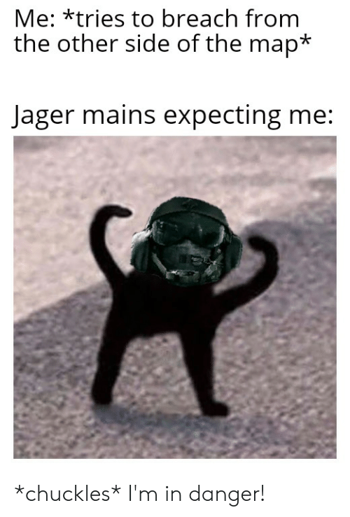 Map, Breach, and Side: Me: *tries to breach from  the other side of the map*  Jager mains expecting me: *chuckles* I'm in danger!