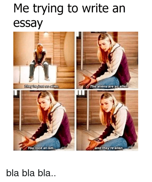Write a essay for me