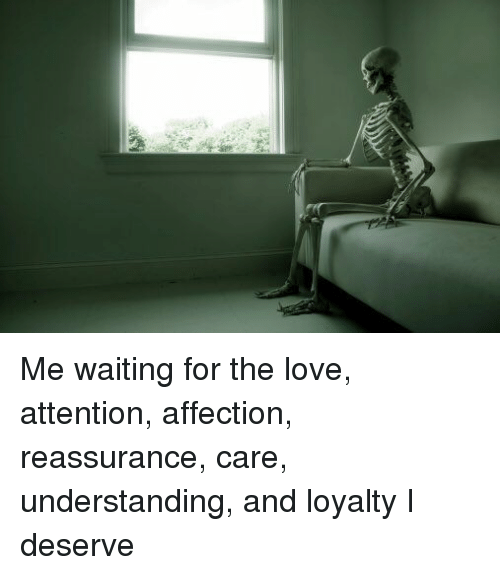 Understanding love waiting and dating
