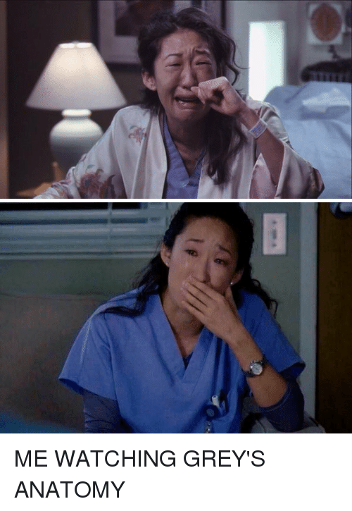ME WATCHING GREY\'S ANATOMY | Grey\'s Anatomy Meme on me.me