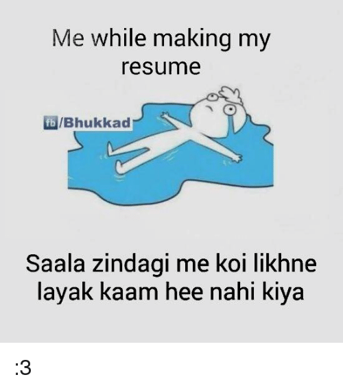 25  best memes about resume