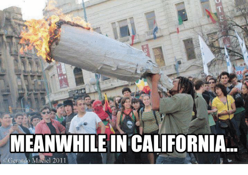 Meanwhile In California
