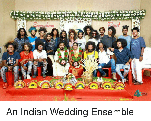 Wedding, Indian, and Indianpeoplefacebook: Meda An Indian Wedding Ensemble