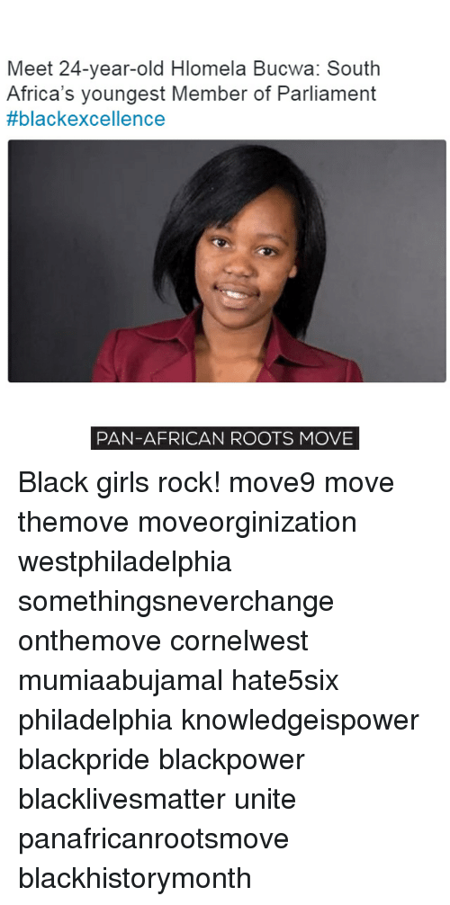 Meet 24-Year-Old Hlomela Bucwa South Africa's Youngest Member of