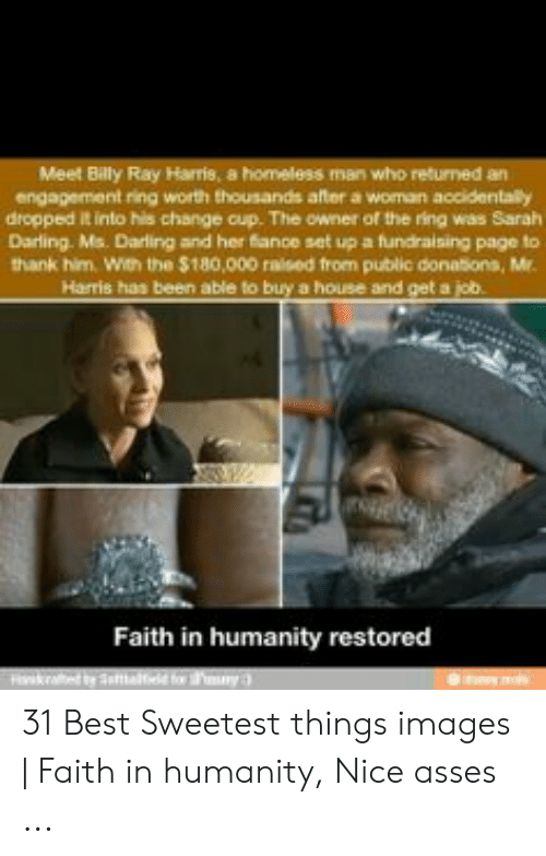Meet Billy Ray Harris a Homeless Man Who Returned an Engagement Ring