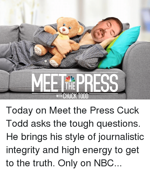 is meet the press on today