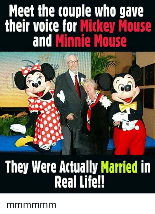 meet the couple who gave their voite for mickey mouse 25208979 meet the couple who gave their voite for mickey mouse and minnie