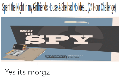 Meet The Spy Team Fortress 2 Copyrigiht Lololol A Valve Picture