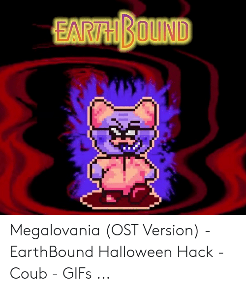 Megalovania OST Version - EarthBound Halloween Hack - Coub