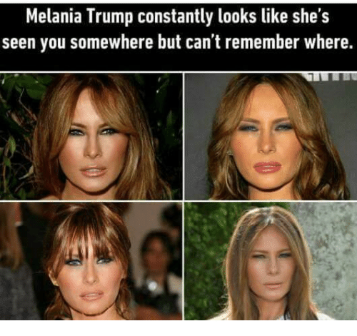 Melania Trump Constantly Looks Like She's Seen You ...