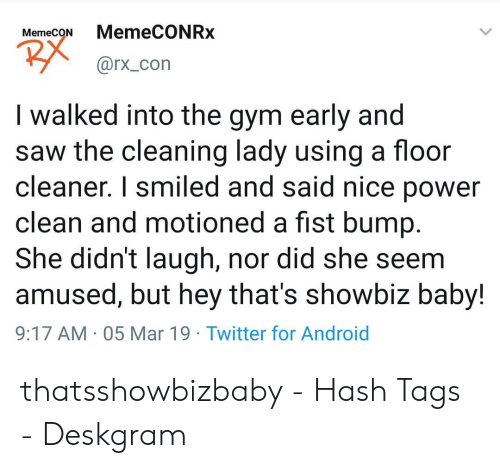 MemecoNMemeCONRx I Walked Into the Gym Early and Saw the