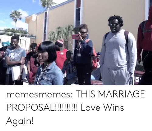 Love, Marriage, and Memes: memesmemes:  THIS MARRIAGE PROPOSAL!!!!!!!!!! Love Wins Again!