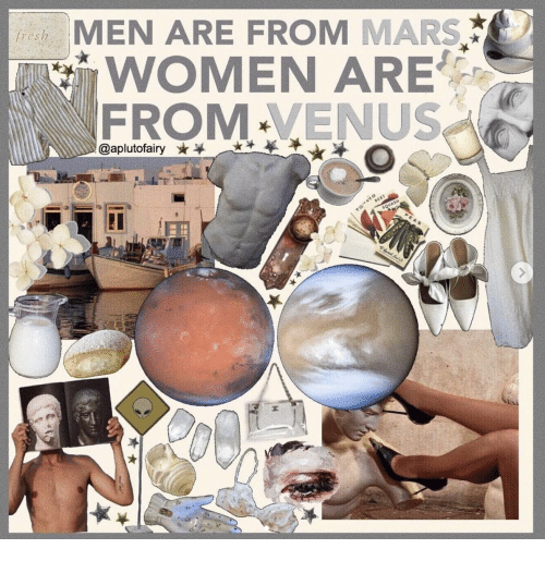 Fresh, Mars, and Venus: MEN ARE FROM MARS  WOMEN ARE  FROM-VENUS  fresh  @aplutofairy  BEET  TOATO  SQUASH