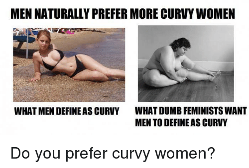Why men love curvy women