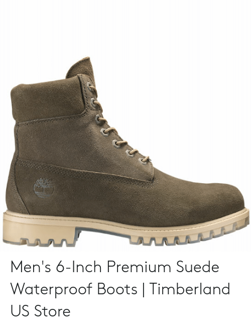02cbc247b Timberland, Boots, and Inch: Men's 6-Inch Premium Suede Waterproof Boots