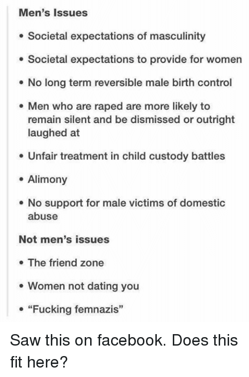 Dating a man with control issues