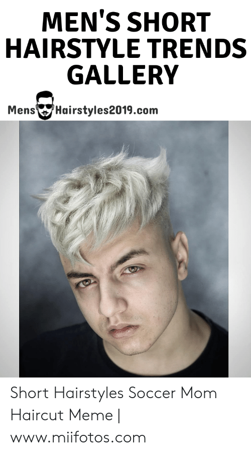 MEN\'S SHORT HAIRSTYLE TRENDS GALLERY MensHairstyles2019com ...