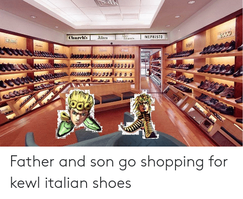 d03186c297f Shoes, Shopping, and Mephisto: MEPHISTO Churclh's Alden Edmonds Father and  son go shopping