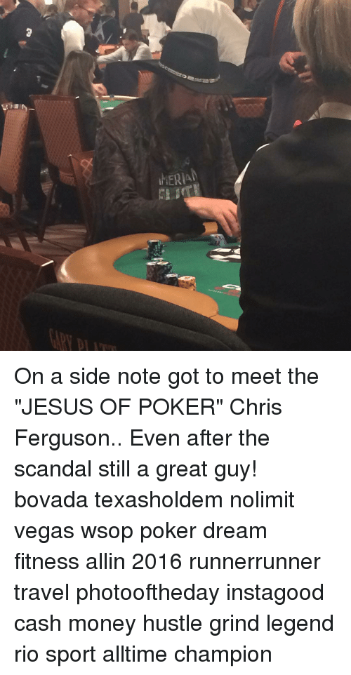 MERA on a Side Note Got to Meet the JESUS OF POKER Chris