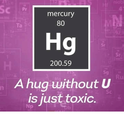 Mercury 80 Hg 20059 0079 a Hug Without U Is Just Toxic
