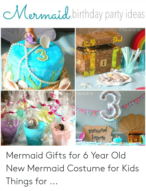 Birthday Party And Kids Mermaid Ideas THE IMAGINATION TREE Eceaceeo Gifts For 6 Year Old