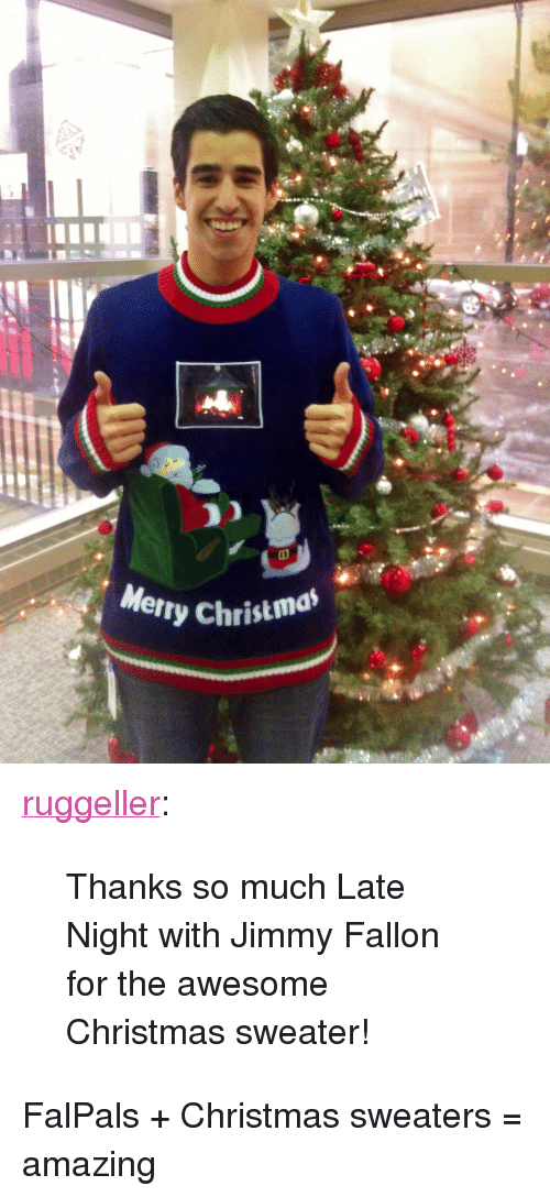 Jimmy Fallon Christmas Sweaters.Merry Christma P A Class Tumblr Blog Href