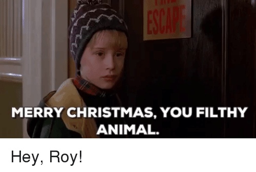 christmas politics and animal merry christmas you filthy animal