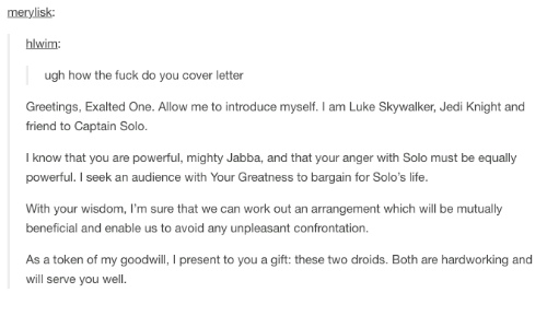 Merylisk hlwim ugh how the fuck do you cover letter greetings jedi life and luke skywalker merylisk hlwim ugh how the fuck do m4hsunfo