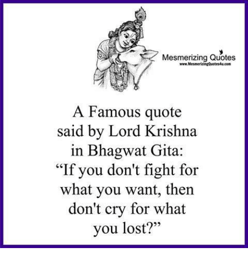 Mesmerizing Quotes a Famous Quote Said by Lord Krishna in Bhagwat Adorable Lord Krishna Quotes