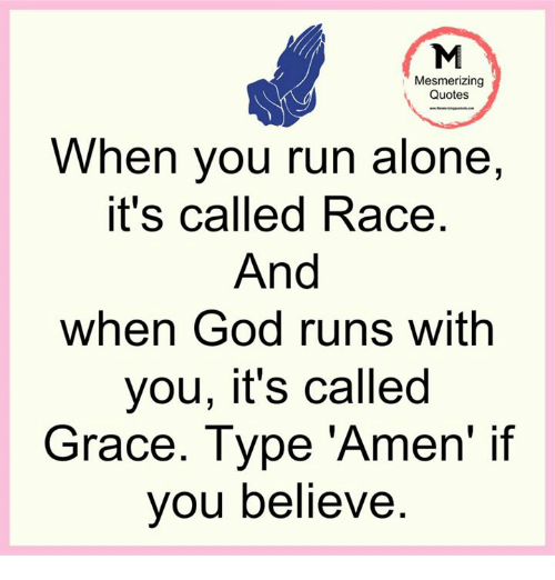 Mesmerizing Quotes For Fun: Mesmerizing Quotes When You Run Alone It's Called Race And
