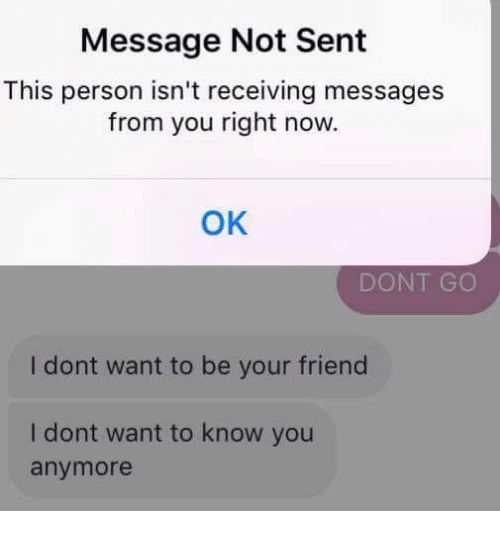 Message Not Sent This Person Isn\u0027t Receiving Messages From You Right
