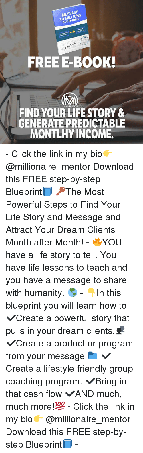 Message to millions blueprint freee book find yourlife story click life and memes message to millions blueprint freee book find malvernweather Images