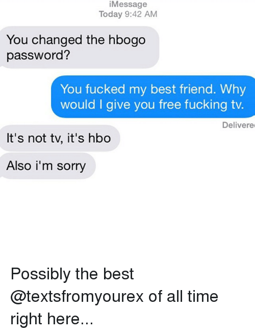 Message Today 942 AM You Changed the Hbogo Password? You