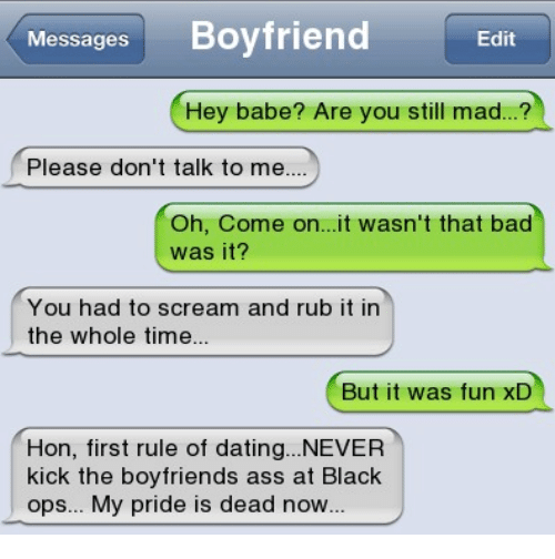 Messages Boyfriend Edit Hey Babe? Are You Still Mad? Please