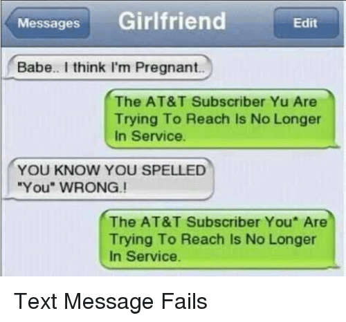 Messages girlfriend babe i think im pregnant the att subscriber yu pregnant att and text messages girlfriend babe i think i m4hsunfo