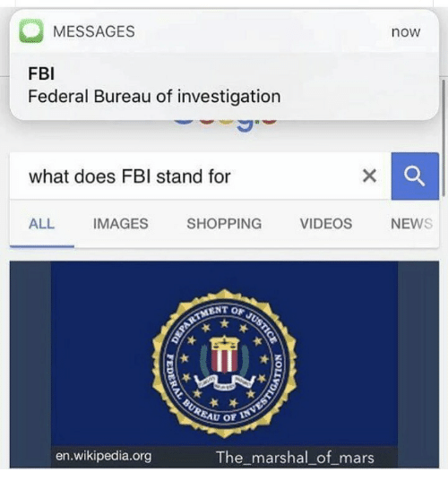what does fbi stand for