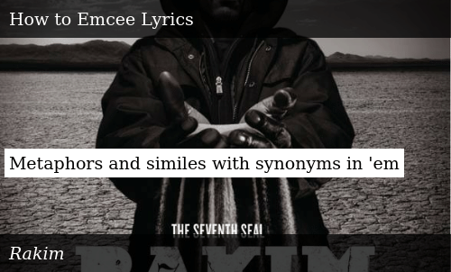 Metaphors and Similes With Synonyms in 'Em | Meme on ME ME