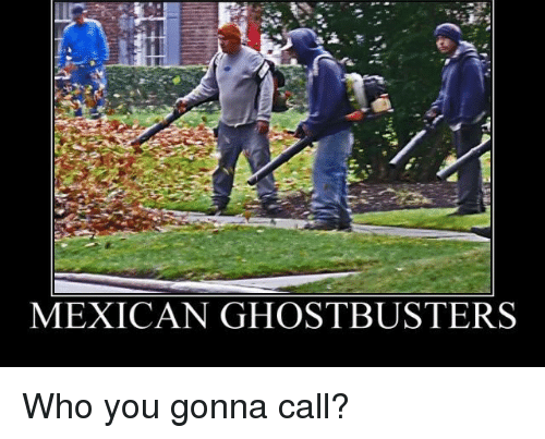 MEXICAN GHOSTBUSTERS Who You Gonna Call? | Funny Meme on me.me