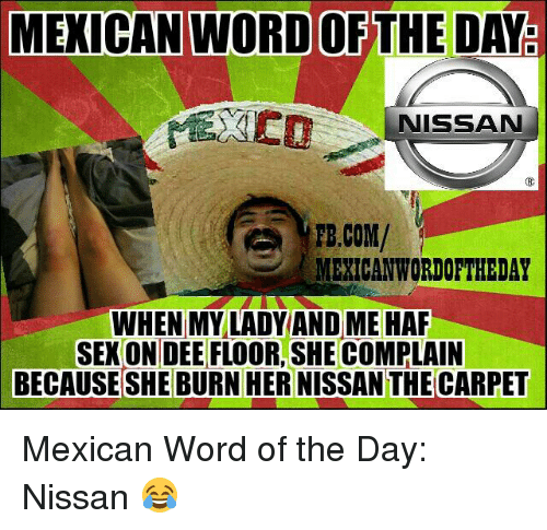 Sexual Word Of The Day