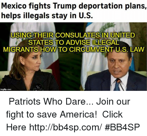 mexico fights trump deportation plans helps illegals stay in u s 7511433 mexico fights trump deportation plans helps illegals stay in us