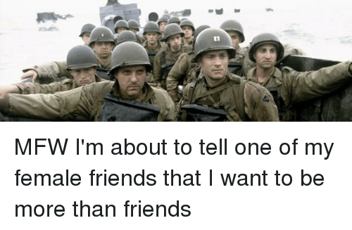 I Want To Be More Than Friends