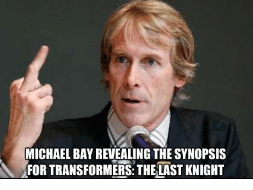 michael bay revealing the synopsis for transformers thelast knight 13789494 michael bay revealing the synopsis for transformers thelast knight