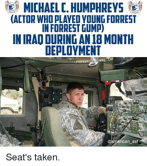 michael c humphreys igij actor who played young forrest in 27311147 ✅ 25 best memes about deployment deployment memes,Military Deployment Memes