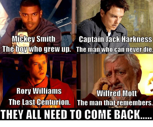 mickey smith captain jack harkness the boy who grew up 5934351 ✅ 25 best memes about centurion centurion memes