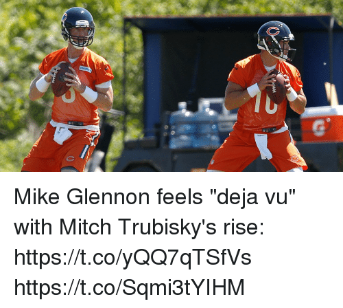 mike glennon feels deja vu with mitch trubiskys rise https t co yqq7qtsfvs 27308934 mike glennon feels deja vu with mitch trubisky's rise